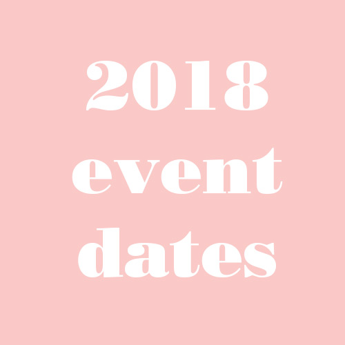 Latrobe Women in Business event dates for 2018