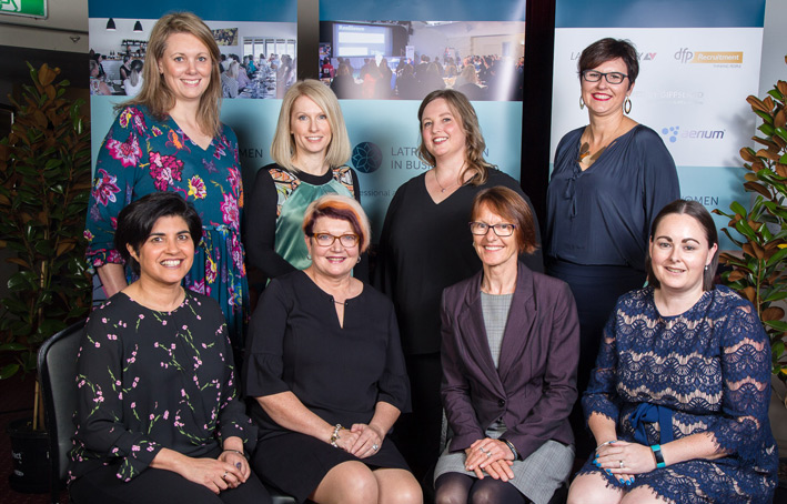 Latrobe Women In Business committee members